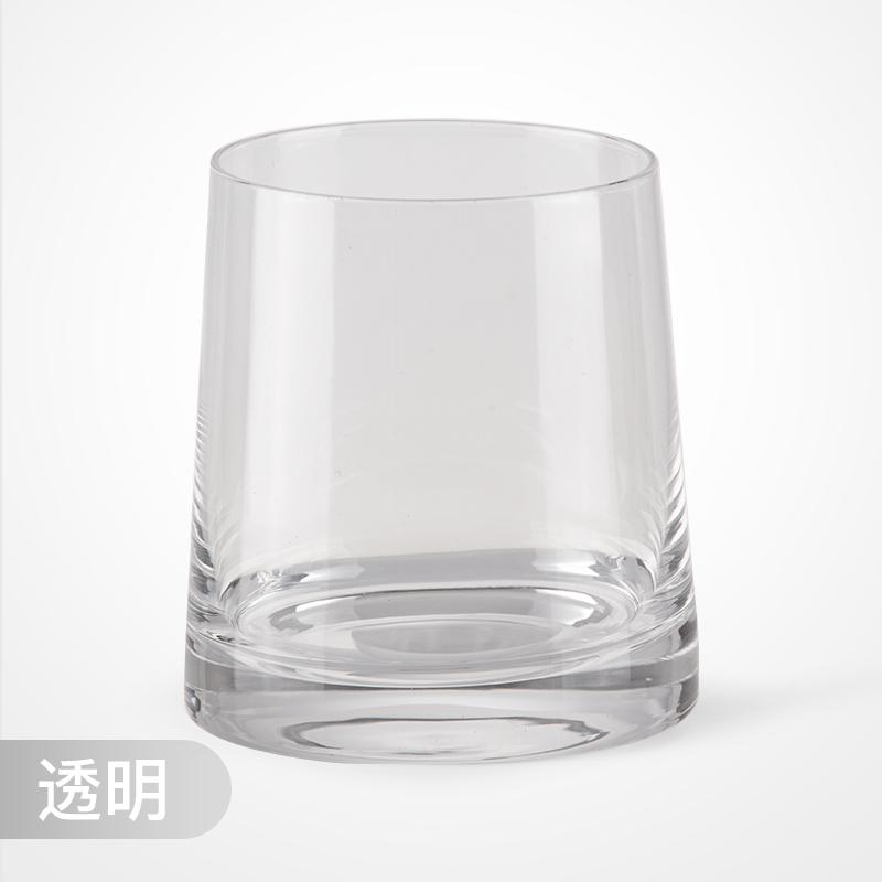 onlycook威士忌酒杯家用高硼硅玻璃杯酒杯网红洋酒杯啤酒杯